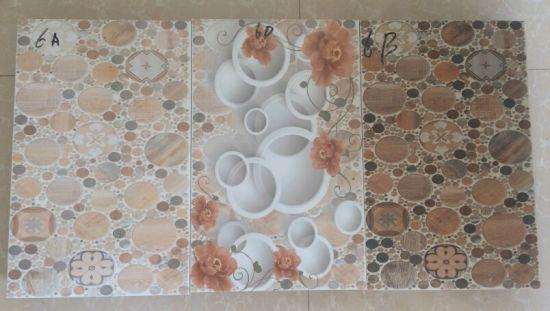 Digital Tiles Design For Kitchen Rumah Joglo Limasan Work